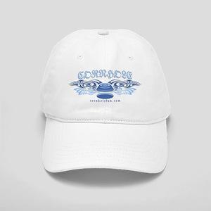 Blue Tribal Cornhole Cap