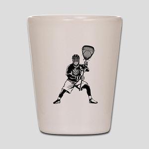 LAX Goalie Shot Glass