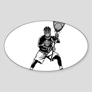 LAX Goalie Sticker