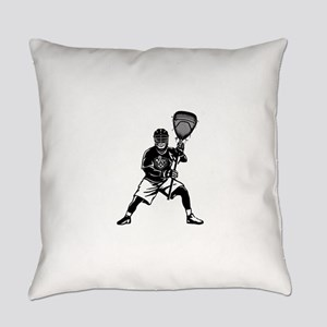 LAX Goalie Everyday Pillow