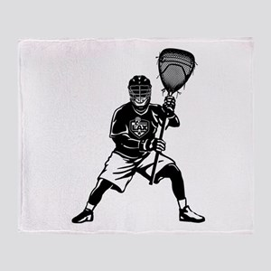 LAX Goalie Throw Blanket