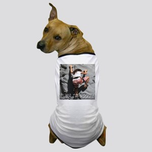Climb The Rockies Dog T-Shirt