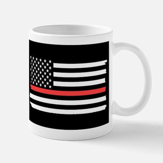 Red Line Flag Mugs