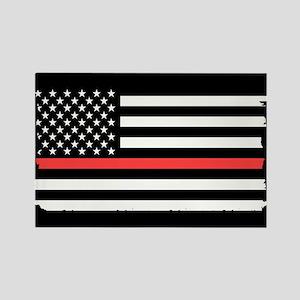 Red Line Flag Magnets