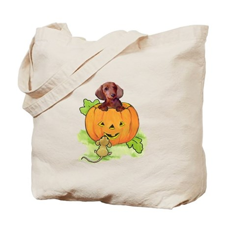 Wiener dog halloween Tote Bag