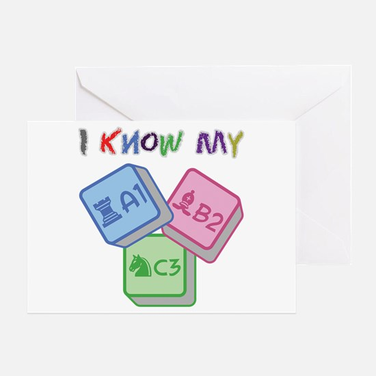 I Know My ABC Greeting Card