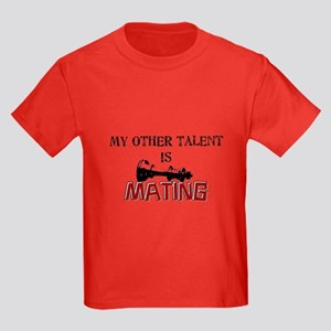 My Other Talent Is Mating Kids Dark T-Shirt