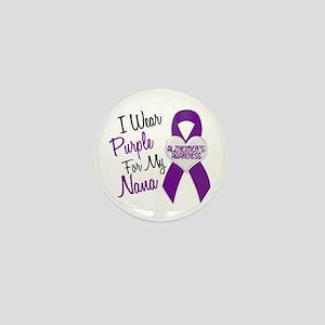 I Wear Purple For My Nana 18 (AD) Mini Button