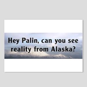Hey Sarah Palin, can you see reality from Alaska?