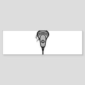 LAX Head Bumper Sticker