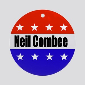 Neil Combee Round Ornament