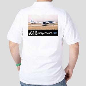 VC-118 Independence Aircraft Golf Shirt