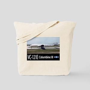 VC-121E Columbine III Aircraft Tote Bag