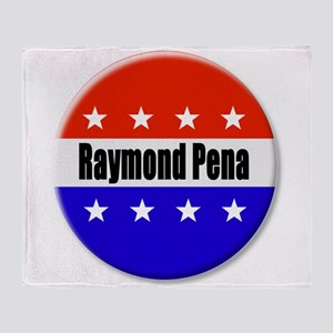 Raymond Pena Throw Blanket