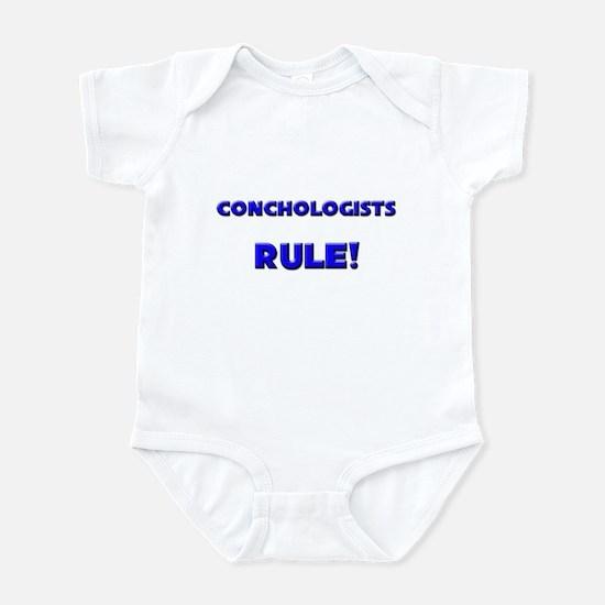 Conchologists Rule! Infant Bodysuit
