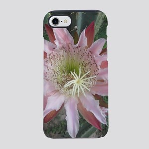 Pink cactus iPhone 8/7 Tough Case