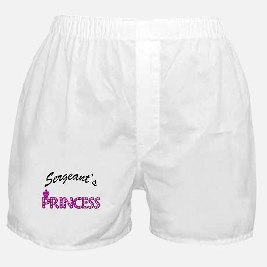 Sergeant's Princess Boxer Shorts
