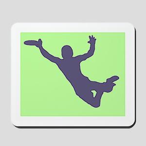 CHALK GREEN BLUE DISC CATCH Mousepad