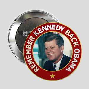 """JFK Color Image 2.25"""" Button"""