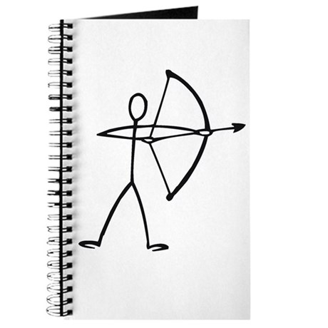 Stick figure archer Journal