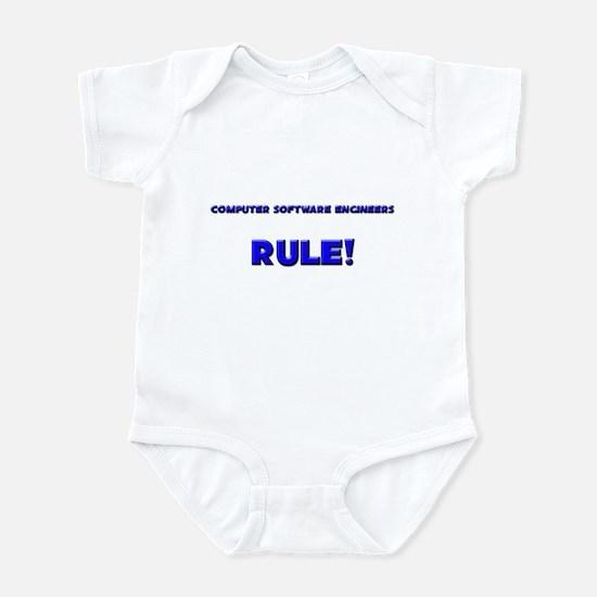 Computer Software Engineers Rule! Infant Bodysuit