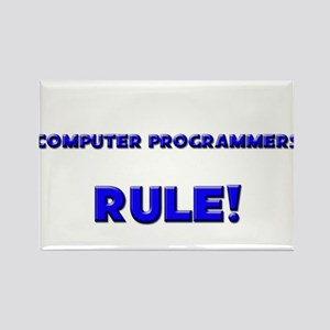 Computer Programmers Rule! Rectangle Magnet