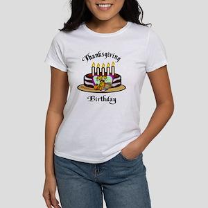 Thanksgiving Birthday Women's T-Shirt