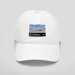 X-3 Stiletto Jet Aircraft Cap