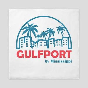 Mississippi - Gulfport Queen Duvet