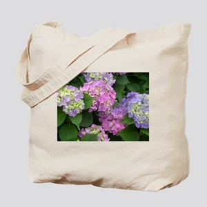 Two-Sided Hydrangea Tote Bag