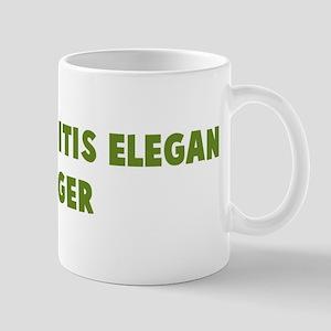Caenorhabditis Elegan Hugger Mug