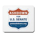Pete Ashdown for U.S Senate Mousepad