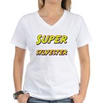 Super sylvester Women's V-Neck T-Shirt