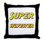 Super sylvester Throw Pillow