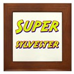 Super sylvester Framed Tile