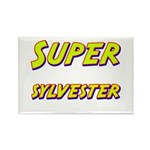Super sylvester Rectangle Magnet