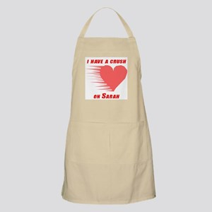 I have a crush on Sarah BBQ Apron