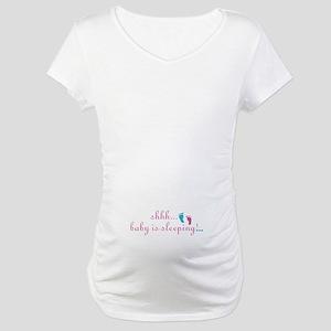 BABY is Sleeping Maternity T-Shirt
