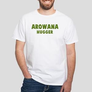 Arowana Hugger White T-Shirt