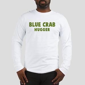 Blue Crab Hugger Long Sleeve T-Shirt