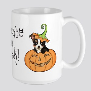 Halloween Chihuahua Large Mug