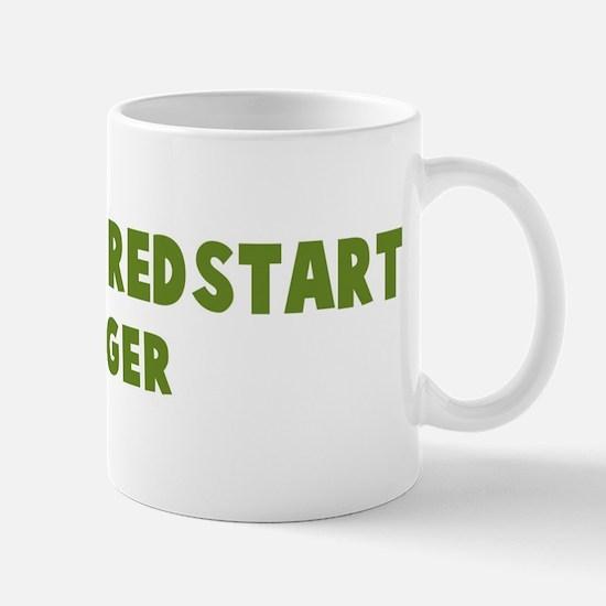 American Redstart Hugger Mug