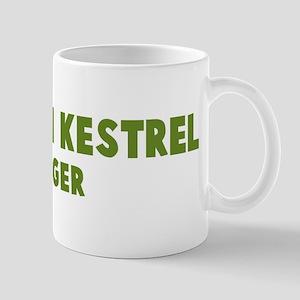 American Kestrel Hugger Mug