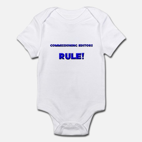 Commissioning Editors Rule! Infant Bodysuit