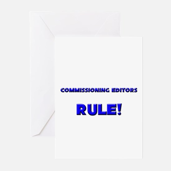 Commissioning Editors Rule! Greeting Cards (Pk of