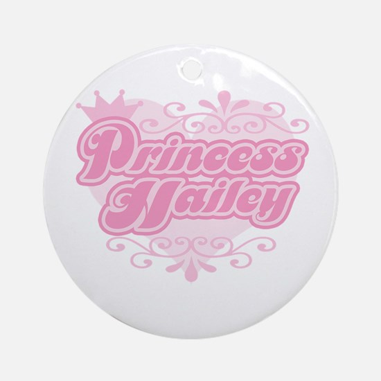 """Princess Hailey"" Ornament (Round)"
