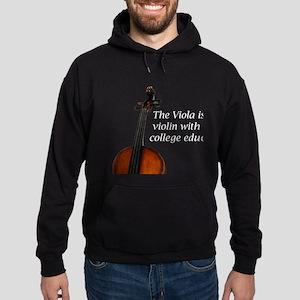 violarealisticonblack Sweatshirt