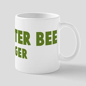Carpenter Bee Hugger Mug