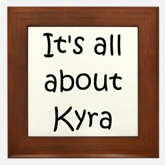 Cool Kyra Framed Tile