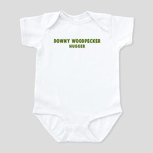 Downy Woodpecker Hugger Infant Bodysuit